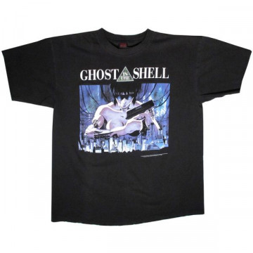 Vintage Ghost In The Shell Fashion Victim Black T Shirt Xl X Large